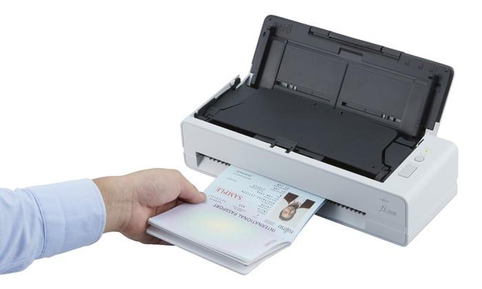 Escaner para pasaporte ¿Cómo escanear mi pasaporte? - Fi-800R